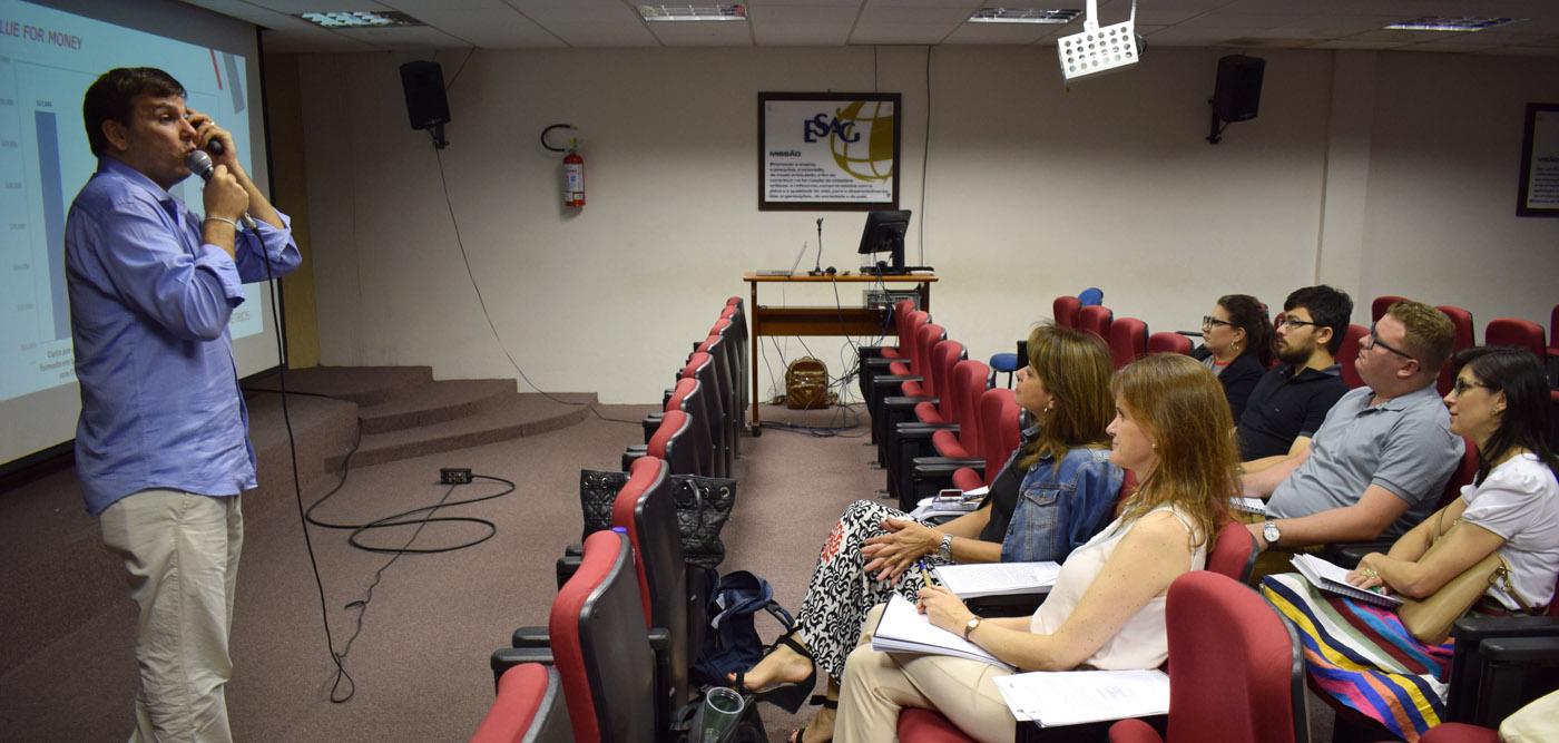 Evento foi realizado na Udesc Esag - Foto por: Fotos: Gustavo Vaz/Ascom