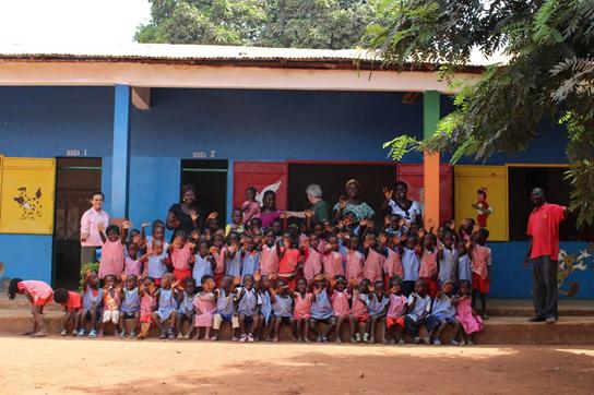 Iniciativas de alunos da Udesc Esag visam apoiar jovens do país africano - Foto por: Fotos: Divulgação