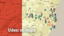 Udesc no Mapa
